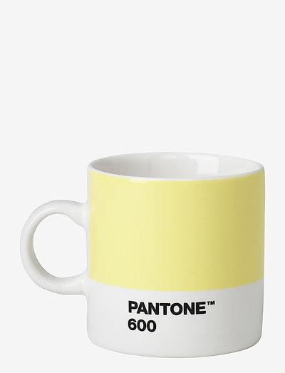 ESPRESSO CUP - espressokupit - light yellow 600 c