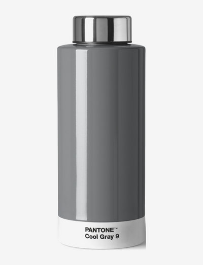 THERMO DRINKING BOTTLE - termospullot - cool grey 009