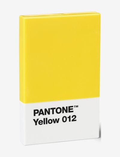 CREDIT & BUSINESS CARD HOLDER - korttikotelot - yellow 012
