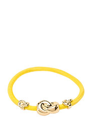 Hair Tie Three Knots - YELLOW