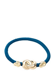 Hair Tie Three Knots - FRENCH BLUE