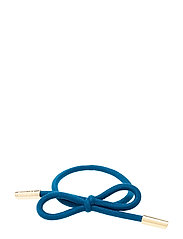 Hair Tie Bow Plain - FRENCH BLUE