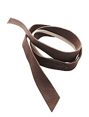Leather Band Short One Layer - BROWN