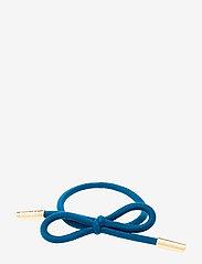 Corinne - Hair Tie Bow Plain - hårsnoddar - french blue - 0