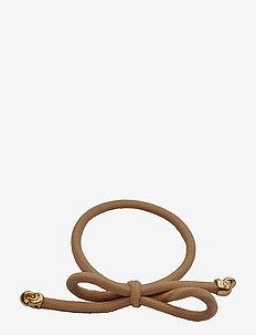 Hair Tie Bow Knots - håraccessoarer - beige