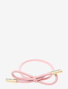 Hair Tie Bow Plain - beauty giveaways - pink