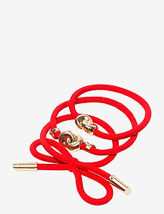 Hair Tie Metal (3 pcs) - beauty giveaways - strawberry red