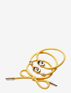 Hair Tie Metal (3 pcs) - beauty giveaways - yellow