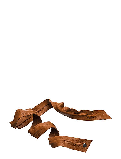 Leather Band Long Bendable - COGNAC