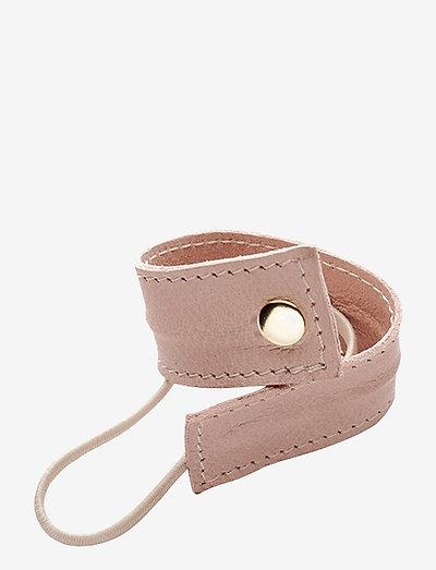 Leather Band Short Bendable - håraccessoarer - pink