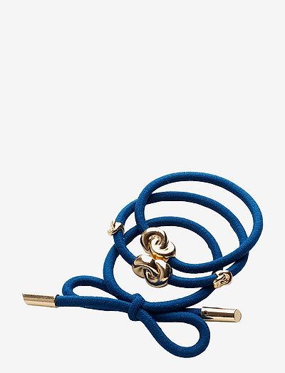 Hair Tie Metal (3 pcs) - hiusasusteet - french blue