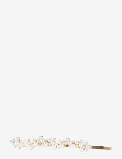 Hairslider Pearls - hiusasusteet - gold