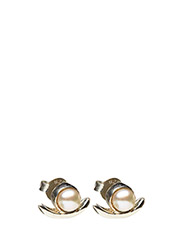 REFINED PEARL SINGLE EARRING - 21 STERLING SILVER
