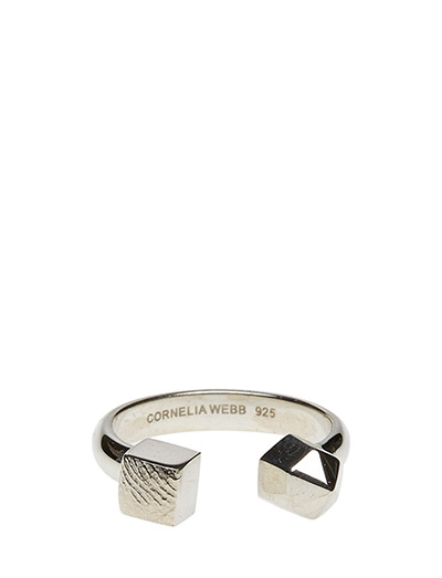 CHARMED OPEN RING SMALL CLASSIC - 21 STERLING SILVER