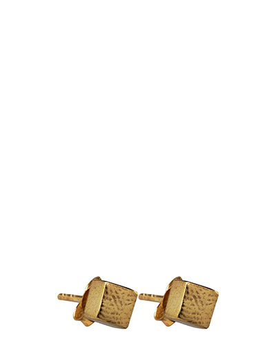 CHARMED STUD EARRING SMALL - 52 GOLD PLATED