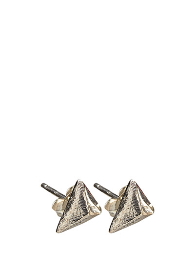 CHARMED STUD EARRING LARGE - 20 SILVER PLATED