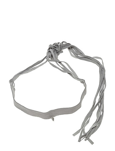 CHARMED CHOKER - 20 SILVER PLATED