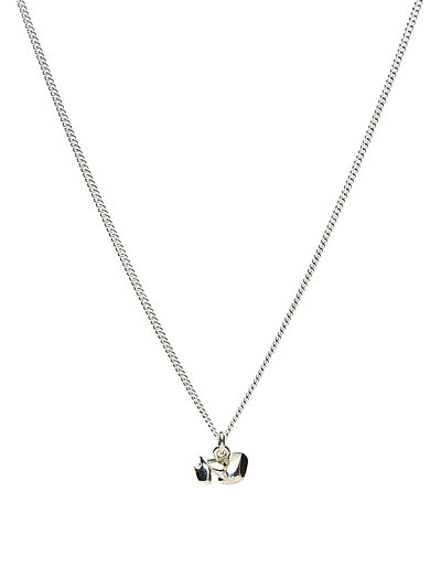 CHARMED NECKLACE XS - 20 SILVER PLATED