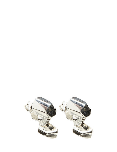 CHARMED STUD EARRING SMALL - 20 SILVER PLATED