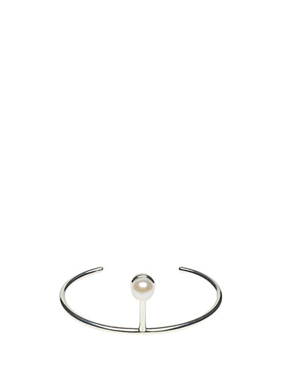 PEARLED SINGLE CUFF CLASSIC - 20 SILVER PLATED