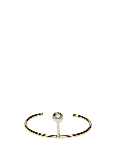 PEARLED SINGLE CUFF CLASSIC - 52 GOLD PLATED