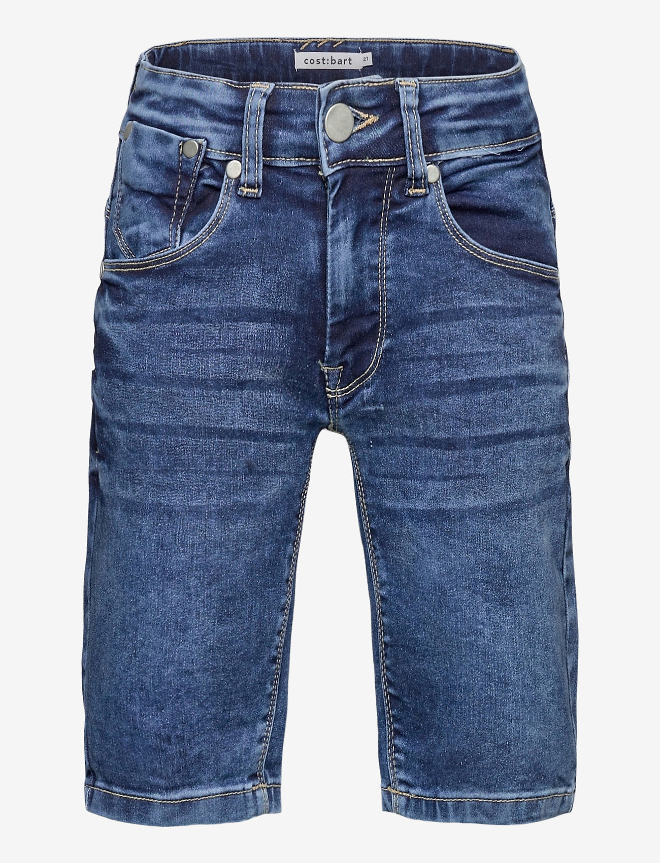Costbart - SAM SHORTS DARK BLUE WASH NOOS - shorts - dark blue denim wash - 0