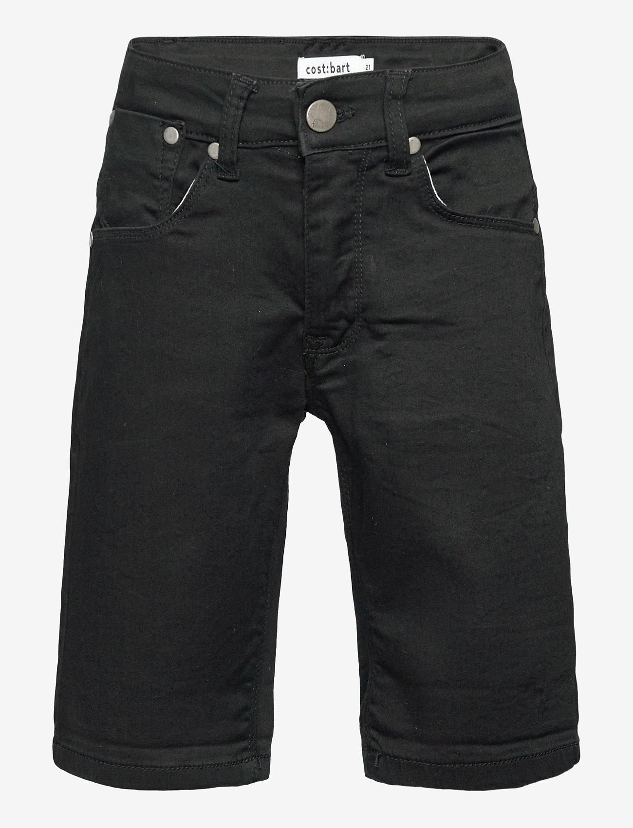 Costbart - SAM SHORTS BLACK WASH NOOS - shorts - black wash - 0