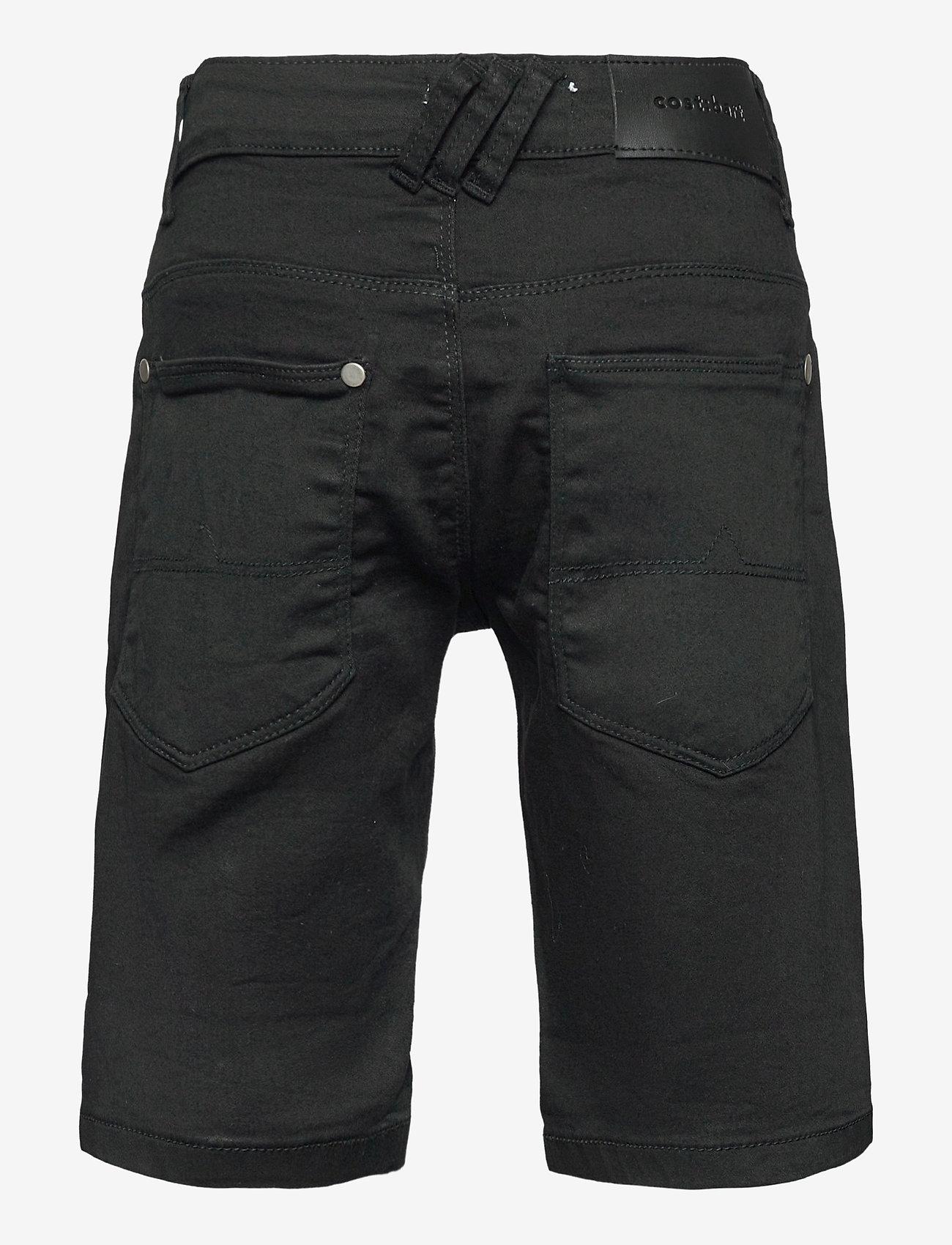 Costbart - SAM SHORTS BLACK WASH NOOS - shorts - black wash - 1