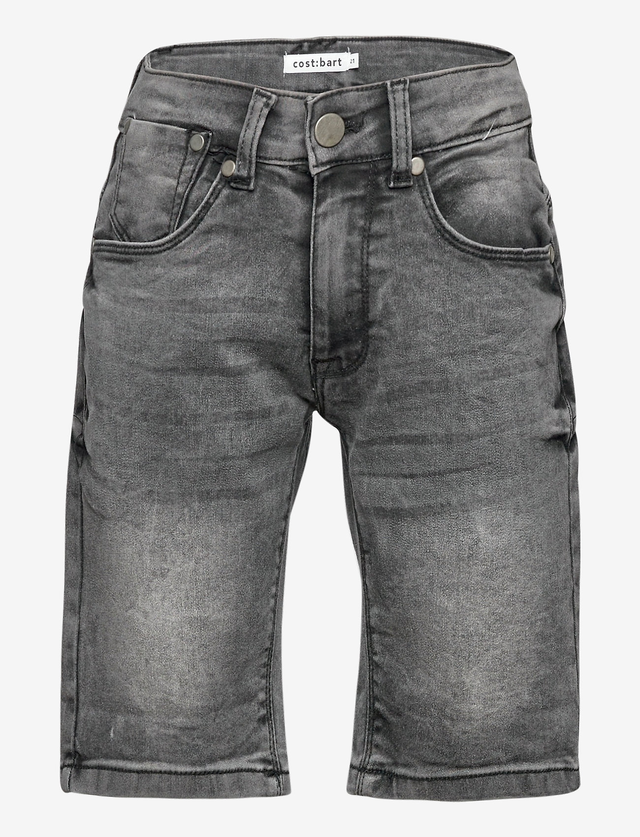 Costbart - SAM SHORTS DARK GREY WASH NOOS - shorts - dark grey denim wash - 0