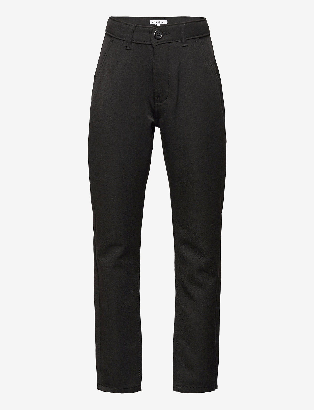 Costbart - CHRIS CHINO PANT - trousers - black - 0