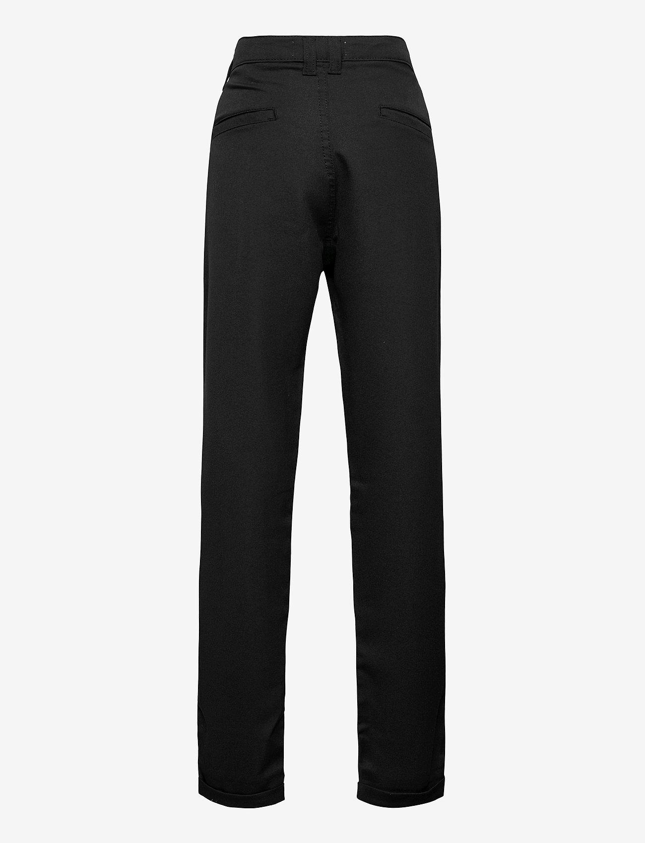 Costbart - CHRINS CHINNO CROPPED PANTR - pantalons - black - 1