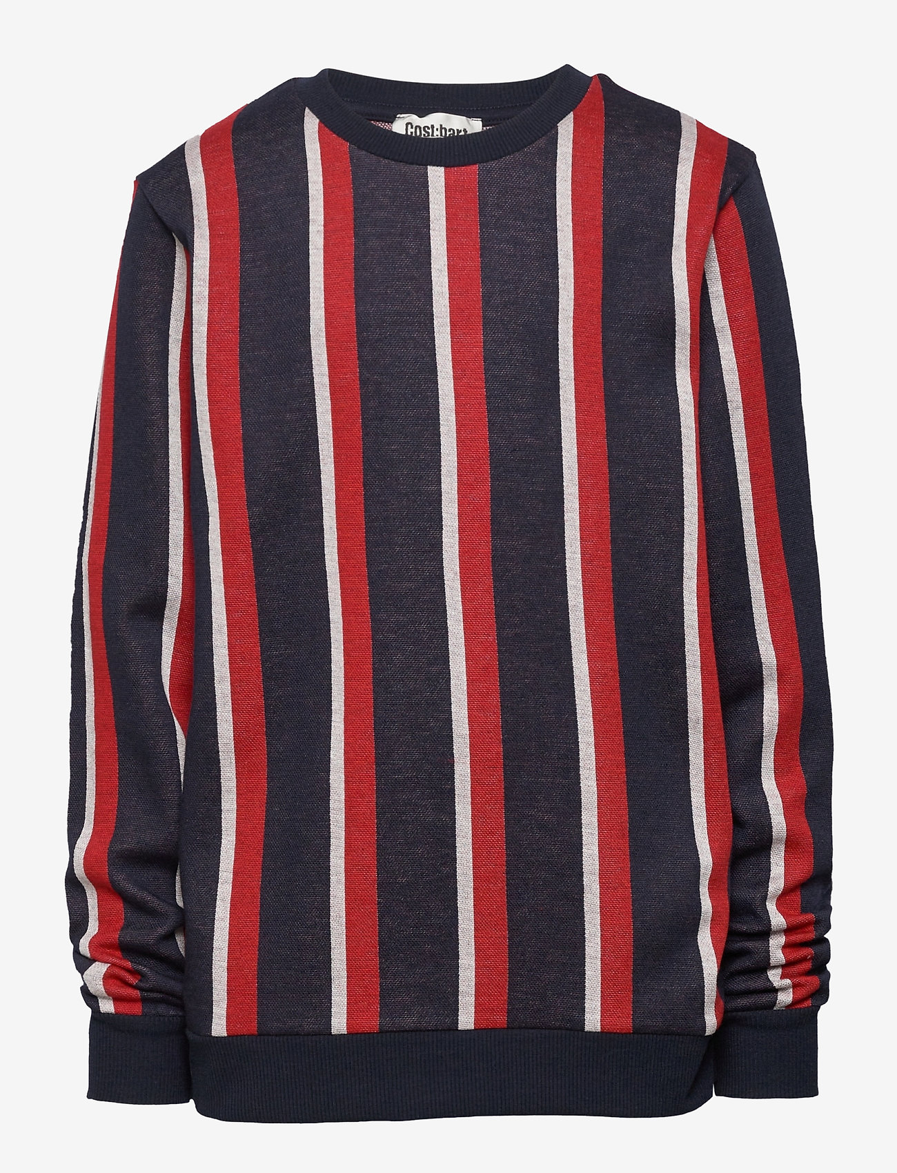 Costbart - HUDSON L_S SWEATR STRRINPED - sweat-shirt - black iris stripe aop - 0