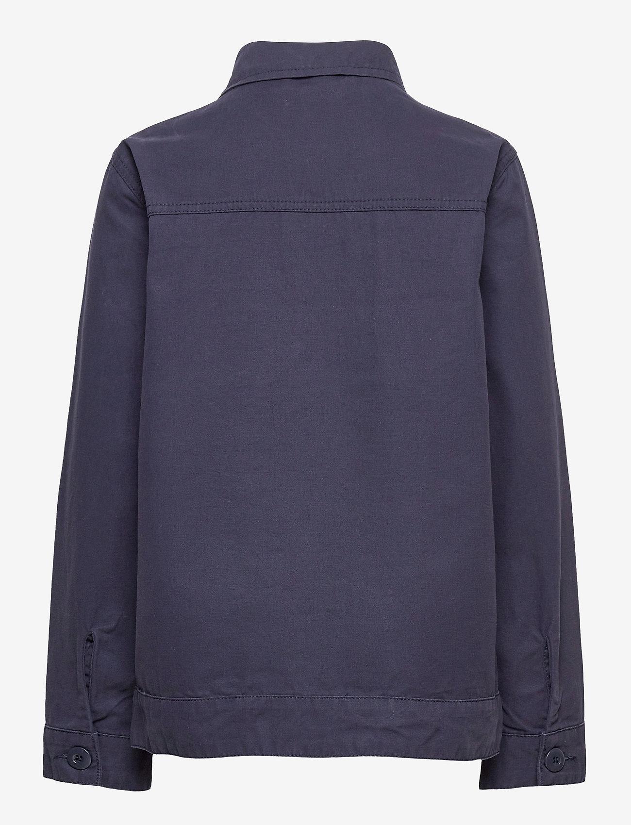 Costbart - KALEB L_S OVERSHIRT - shirts - 19-4014 ombre blue - 1