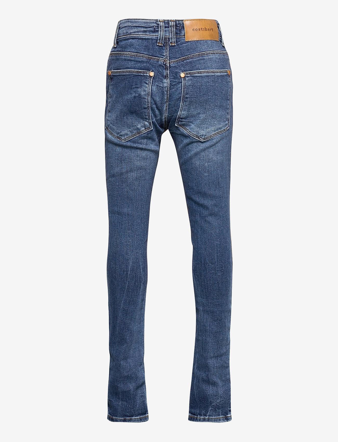 Costbart - BOWIE JEANS MEDIUM BLUE DENIM WASH - jeans - medium blue denim wash - 1