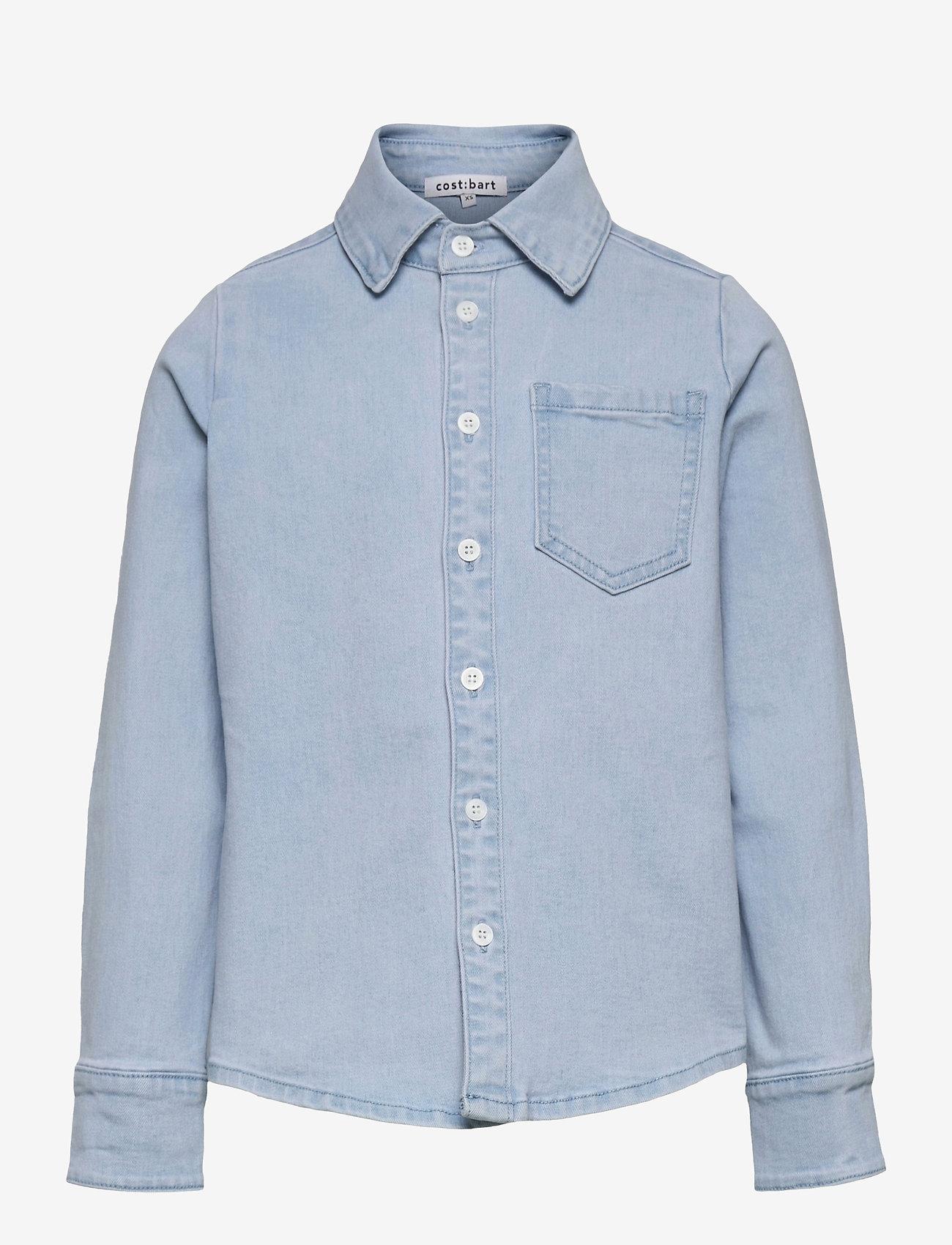 Costbart - MATO DENIM OVERSHIRT - shirts - denim wash - 0