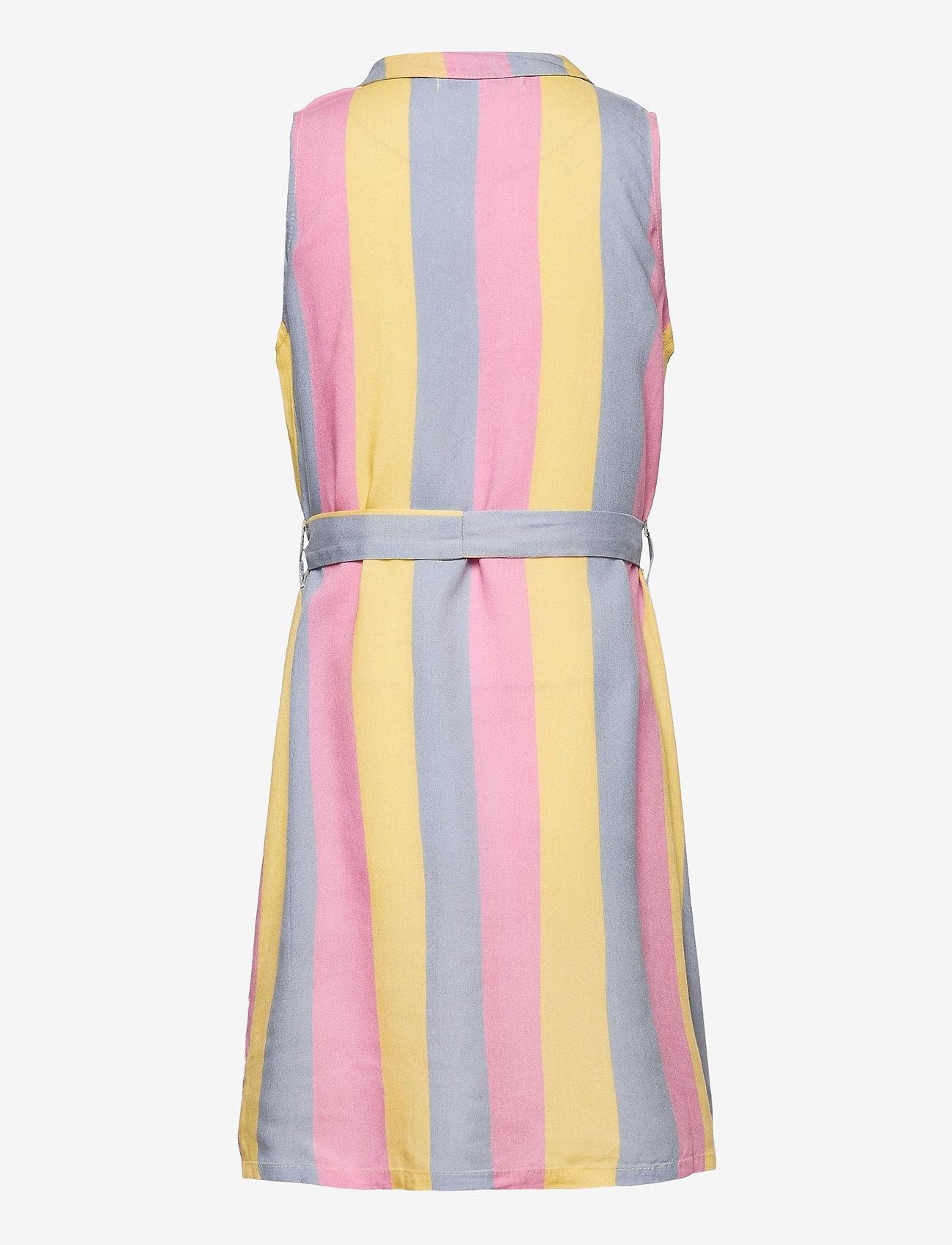 Costbart - NINNA SL DRESS - kleider - dusty blue - 1
