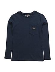 Allan Long sleeve t-shirt - 697-BLUE