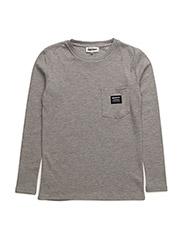Allan Long sleeve t-shirt - 900-GREY