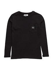 Allan Long sleeve t-shirt - 999-BLACK