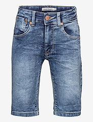 Costbart - SAM SHORTS LIGHT BLUE WASH NOOS - shorts - light blue denim wash - 0