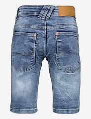 Costbart - SAM SHORTS LIGHT BLUE WASH NOOS - shorts - light blue denim wash - 1