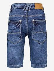 Costbart - SAM SHORTS DARK BLUE WASH NOOS - shorts - dark blue denim wash - 1