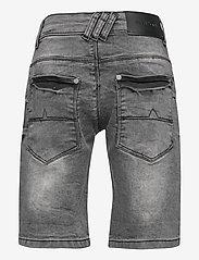 Costbart - SAM SHORTS DARK GREY WASH NOOS - shorts - dark grey denim wash - 1