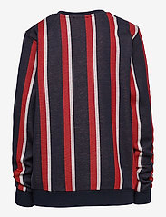 Costbart - HUDSON L_S SWEATR STRRINPED - sweat-shirt - black iris stripe aop - 1