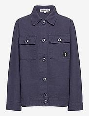 Costbart - KALEB L_S OVERSHIRT - shirts - 19-4014 ombre blue - 0