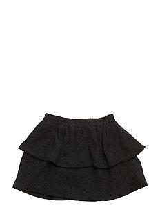 Thyra Wide skirt - 999/BLACK