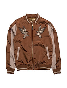 Thea Bomber jacket - 275/BROWN
