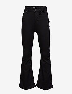 ANNE CROPPED FLARED JEANS COL. 999 - BLACK