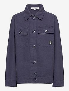 KALEB L_S OVERSHIRT - shirts - 19-4014 ombre blue