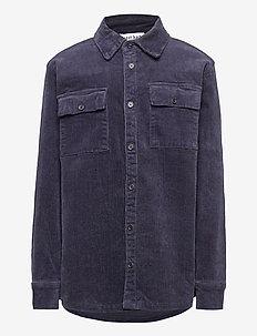 KONRAD L_S SHIRT - shirts - black iris